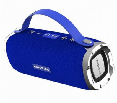 Бездротова колонка HOPESTAR H24 Pro Версія Bluetooth USB Blue