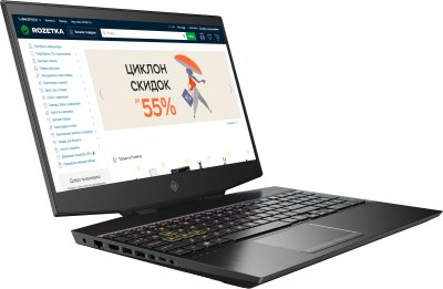 Ноутбук HP Omen 15-dh1012ur (15C48EA) Shadow Black