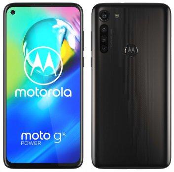 Мобільний телефон Motorola G8 Power 4/64 GB Smoke Black (PAHF0007RS)