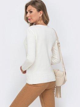 Джемпер Dressa 49631 Белый