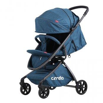 Коляска прогулочная CARRELLO Magia CRL-10401 Синяя алюмин рама, резиновые колеса