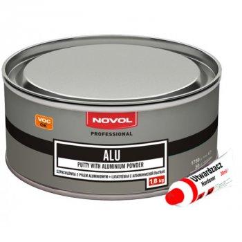 Шпатлівка Novol ALU c алюмінієм 1,8 кг