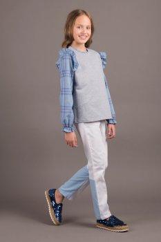 Джемпер ANDRE TAN Kids K30112P Сіро-блакитний