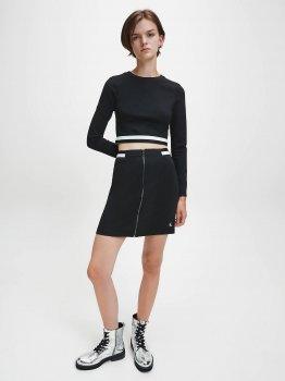Спідниця Calvin Klein Jeans Zip Monochrome Milano Skirt J20J214946-BEH0 CK Black