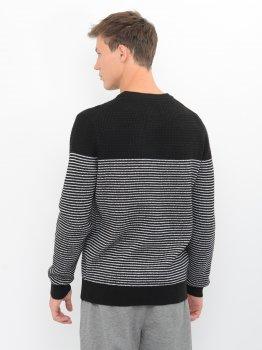 Джемпер Calvin Klein Jeans Textured Striped Cn Sweater J30J316582-BEH0 CK Black