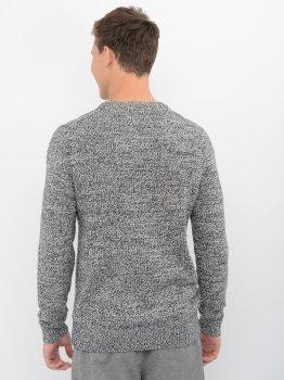 Джемпер Calvin Klein Jeans Twisted Yarn Ck Logo Sweater J30J316592-BEH0 CK Black