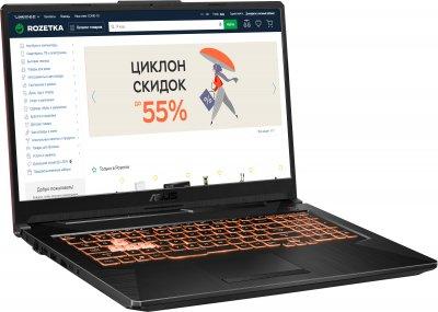 Ноутбук Asus TUF Gaming A17 FA706II-H7004 (90NR03P2-M02680) Bonfire Black