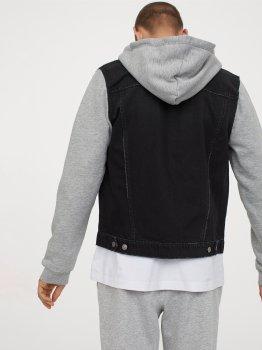 Куртка джинсовая H&M 4073540 Черная