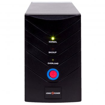 ИБП LogicPower LP 1700VA, Lin.int., AVR, 2 x євро, метал