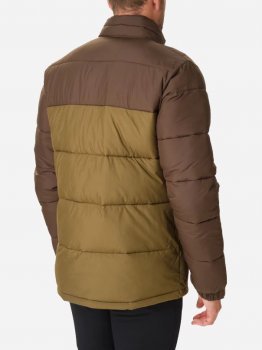 Куртка Columbia Pike Lake Jacket O0019334 Зелено-чорна