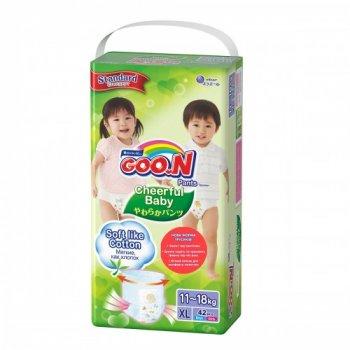 Трусики-підгузки Cheerful Baby для дітей (XL, 11-18 кг, унісекс, 42 шт) (843286)