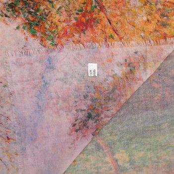 Платок Eterno DS-21015-1 Зелено-оранжевый с розовым (2900000115675)