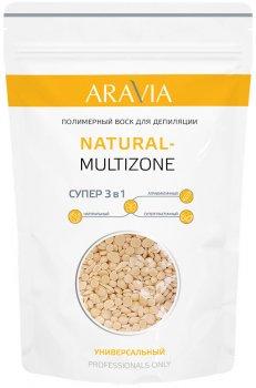 Полимерный воск для депиляции Aravia Professional Natural-Multizone универсальный 1000 г (8301)