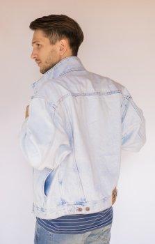 Куртка джинсова чоловіча Mustang Світло-блакитний