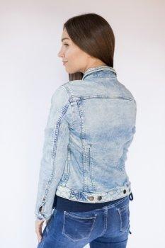 Куртка джинсова жіноча Mustang Індиго