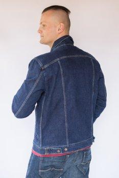 Куртка джинсова чоловіча Синя (1006708)
