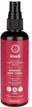 Універсальний тонік-спрей Khadi Wonder Hair Tonic для зміцнення і росту волосся без алкоголю 100 мл (4260378049131)