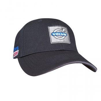 Бейсболка с логотипом авто Вольво Sport Line 6192 57-60 цвет черный