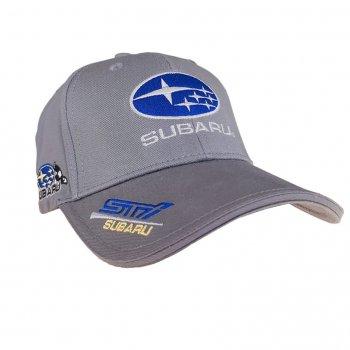 Автомобильная кепка Субару Sport Line 6507 57-60 цвет серый
