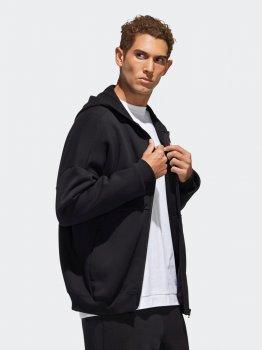 Толстовка Adidas M Mhs Wrd Fzswt GE0384 Black