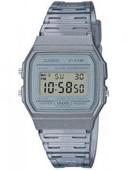 Чоловічі наручні годинники Casio F-91WS-8EF