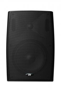 """Настенная влагозащищенная акустическая система DV audio 6""""+1,5"""" 40W IP65 PB-6.2T IP Black"""
