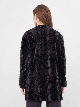 Шуба Pull & Bear 9711/343/800 Чорна