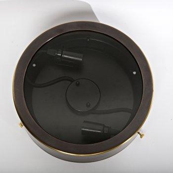 Стельовий світильник Tablet lamp 3758 скло прозорий/латунь коричневий PikArt
