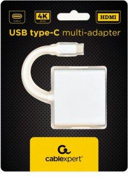 Адаптер-преобразователь Cablexpert A-CM-HDMIF-02-SV
