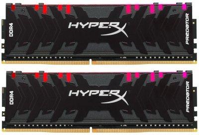 Оперативная память HyperX DDR4-4000 16384MB PC4-32000 (Kit of 2x8192) Predator RGB (HX440C19PB4AK2/16)
