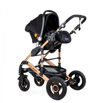 Универсальная коляска 3в1 с автокреслом Ninos Freelander, Grey