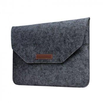 Папка конверт Dux Ducis Felt Sleeve bag для MacBook Air 13.3″ Gray (BAG-0003)