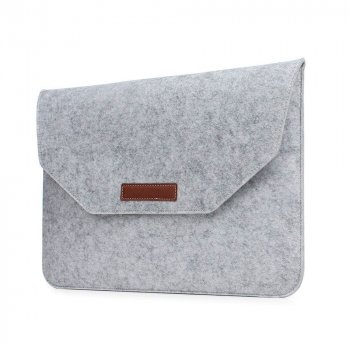 Папка конверт Dux Ducis Felt Sleeve bag для MacBook Air 11.6″ White (BAG-0002)
