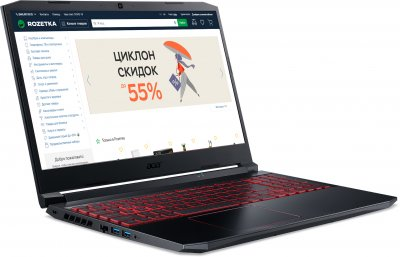 Ноутбук Acer Nitro 5 AN515-44-R74P (NH.Q9HEU.00F) Obsidian Black