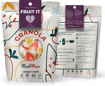 Гранола с фруктами Muesli Mania Fruit It 350 г (482022014272_4820220140272)
