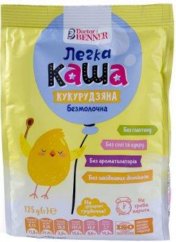 Упаковка легкой каши Doctor Benner Кукурузная 125 г х 4 шт (20132581545)