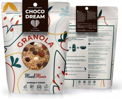 Гранола шоколадная Muesli Mania Choco Dream 350 г (4820220140265)