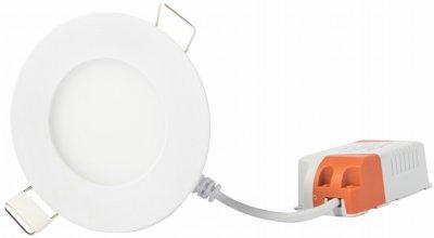 Точковий світильник Евросвет 3 Вт 4200 K LED-R-90-3 (56826) 2 шт.