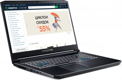 Ноутбук Acer Predator Helios 300 PH317-54-70GE (NH.Q9VEU.001) Abyssal Black