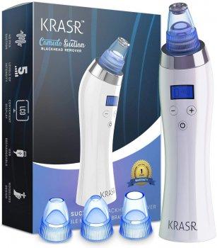 Вакуумный прибор для чистки лица очиститель пор удаления угрей прибор для пилинга Krasr