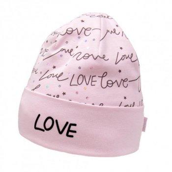 Демисезонная шапка David's Star 21307 54 см Розовая (ROZ6400025131)
