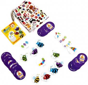 Гра в мішечку Vladi Toys Шалені бджоли (укр) (VT8077-15)