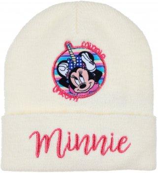 Демисезонная шапка Disney Minnie TH4025 54 см Белая (3609084631215)