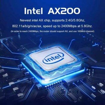 Сетевая карта EDUP EP-9636GS PCI-E 3000Mbps WiFi 6 + Bluetooth 5.1 Intel AX200 5Ghz