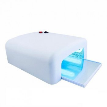 УФ лампа для маникюра и педикюра Simei 818 на 36 Вт.