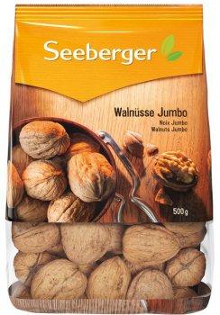 Волоський горіх Seeberger у шкаралупі 500 г (4008258009017)