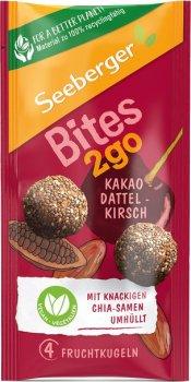 Фруктові кульки Seeberger з какао, фініком і вишнею 38 г (4008258435038)