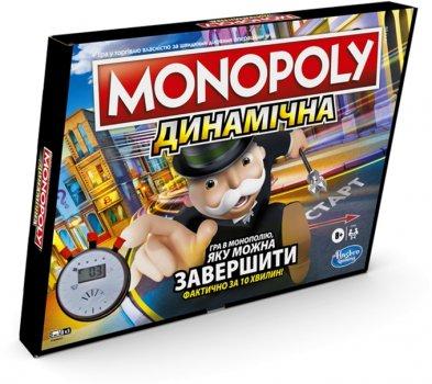 Настільна гра Hasbro Монополія Перегони (українська версія) (E7033_657)