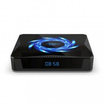 Смарт ТВ приставка Enybox X96Q MAX 4/32 GB + Аэро пульт G10S PRO с гироскопом и микрофоном + Настройка в подарок