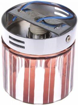 Світильник точковий Brille HDL-G184-C CH CL/RED (L13-016)
